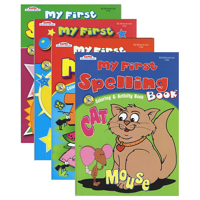 KAPPA Assorted My First Series Activity Book
