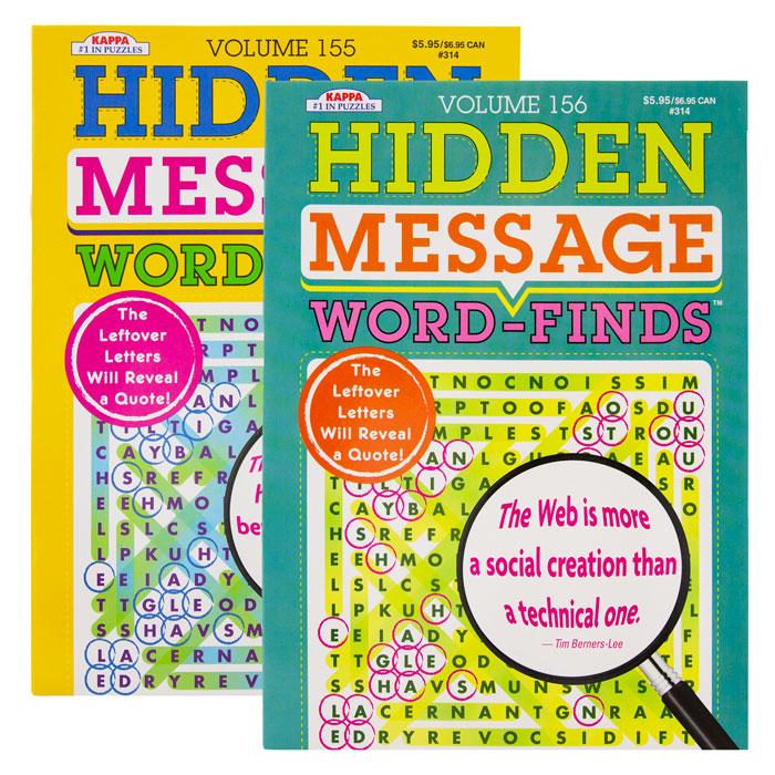 KAPPA Hidden Message Word Finds Book