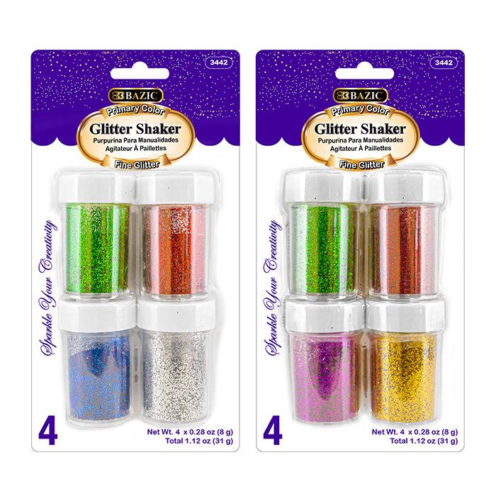 BAZIC 12 Glitter Chenille Stems (40/Pack)