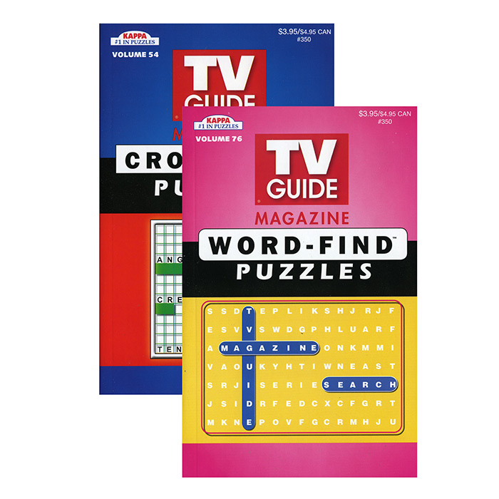 KAPPA TV Guide Word Finds & Crossword Puzzles Book