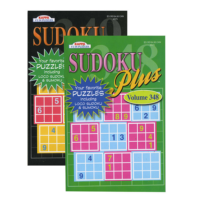 KAPPA Sudoku Puzzles Book