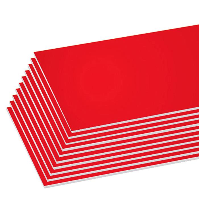 BAZIC 20 X 30 Red Foam Board