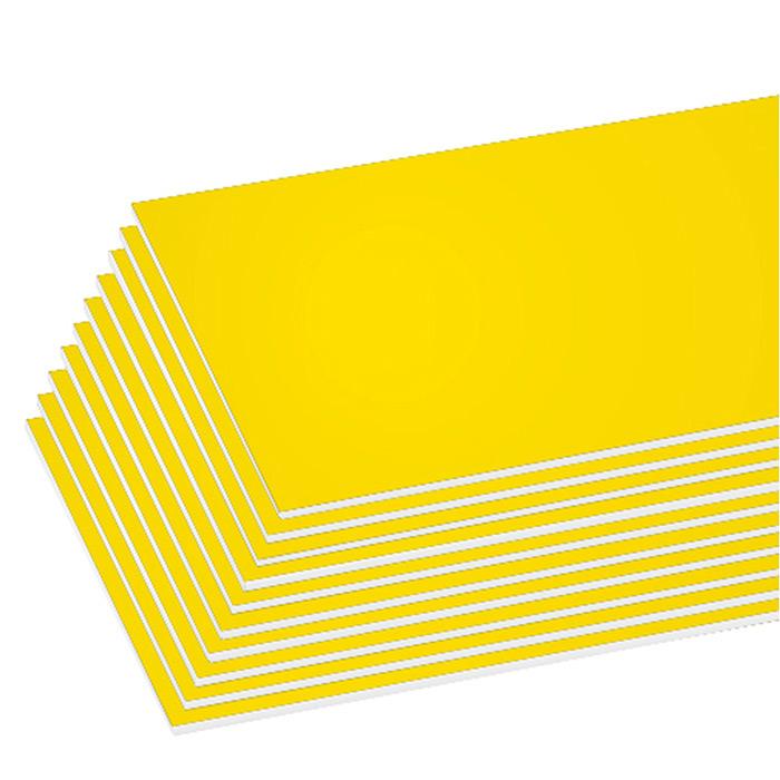 BAZIC 20 X 30 Yellow Foam Board