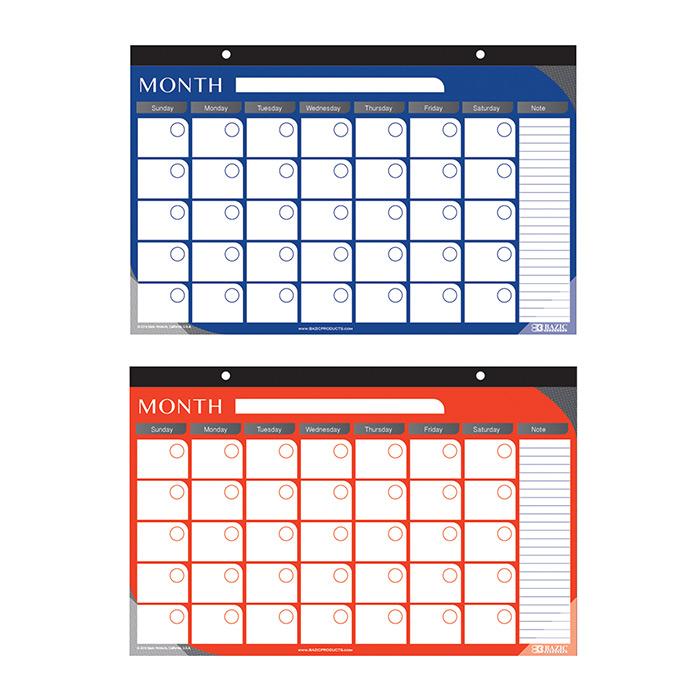 BAZIC 50 Ct. 8.5 X 11.75 Perforated White Writing Pad (2/Pack)
