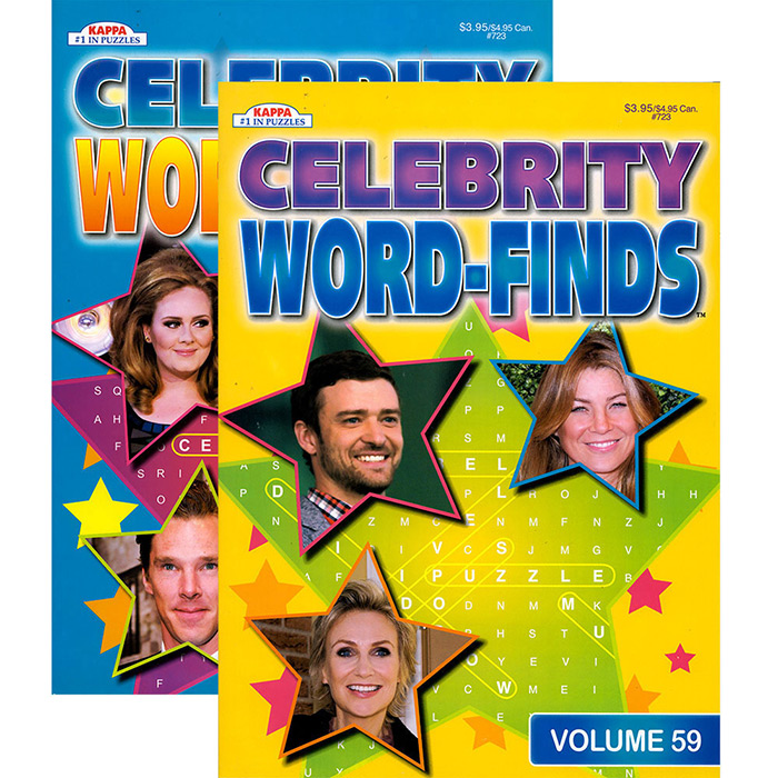 KAPPA Celebrity Word Finds