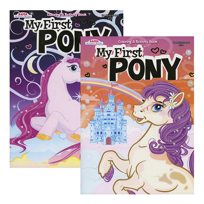 KAPPA My First Pony Coloring & Activity Book