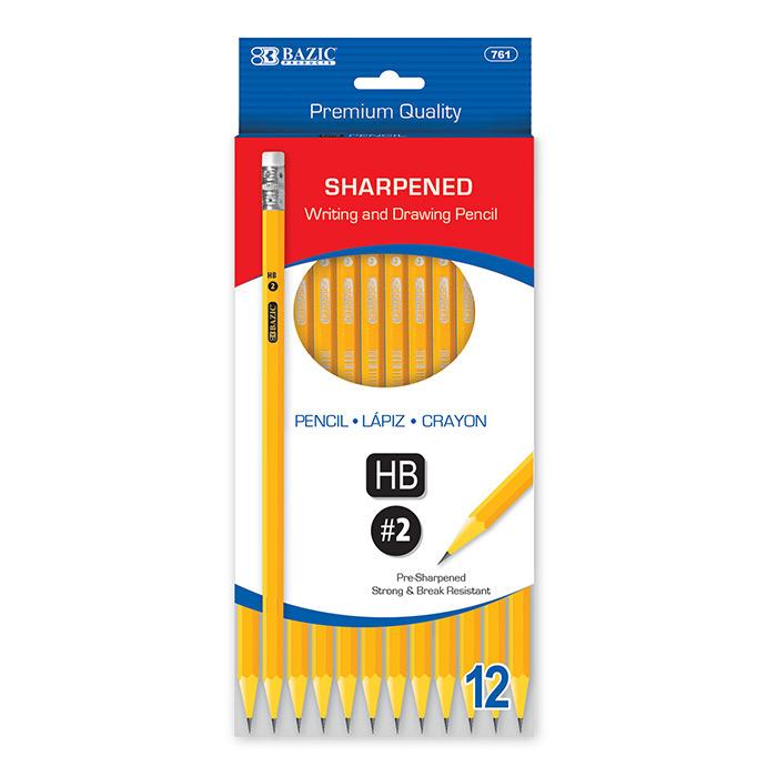 BAZIC Manhattan 0.7mm Metal Mechanical Pencil (3/Pack)