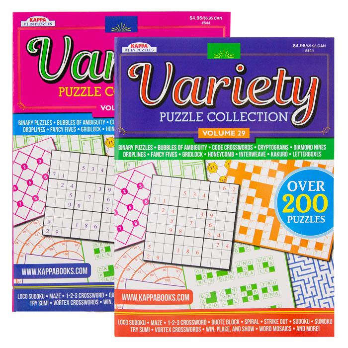 KAPPA Variety Puzzles & Games Book